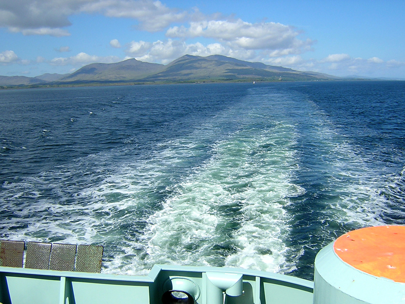 Ferry to The Outer Hebrides Oban-Barra