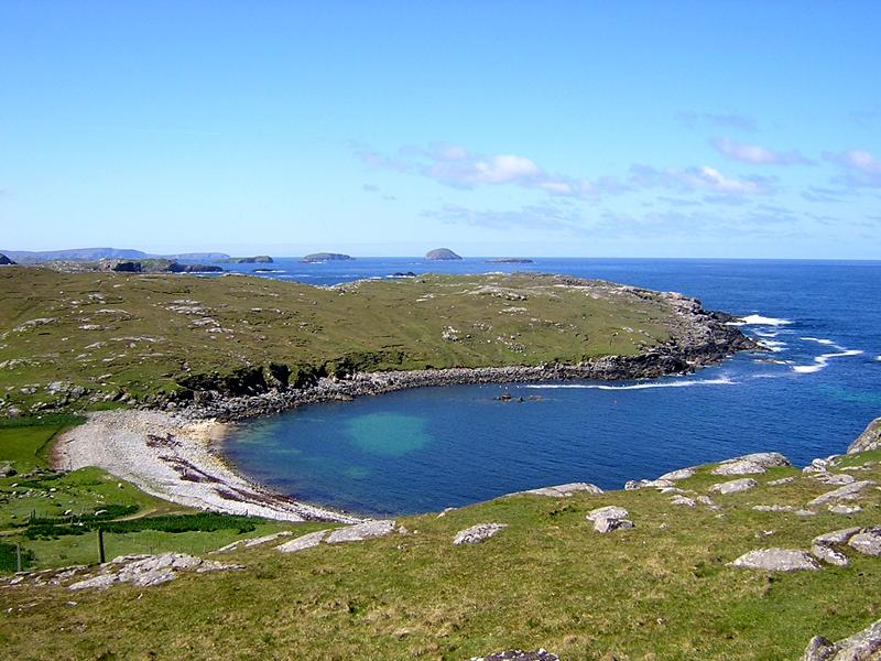 Gearrannan beach Isle of Lewis Scotland