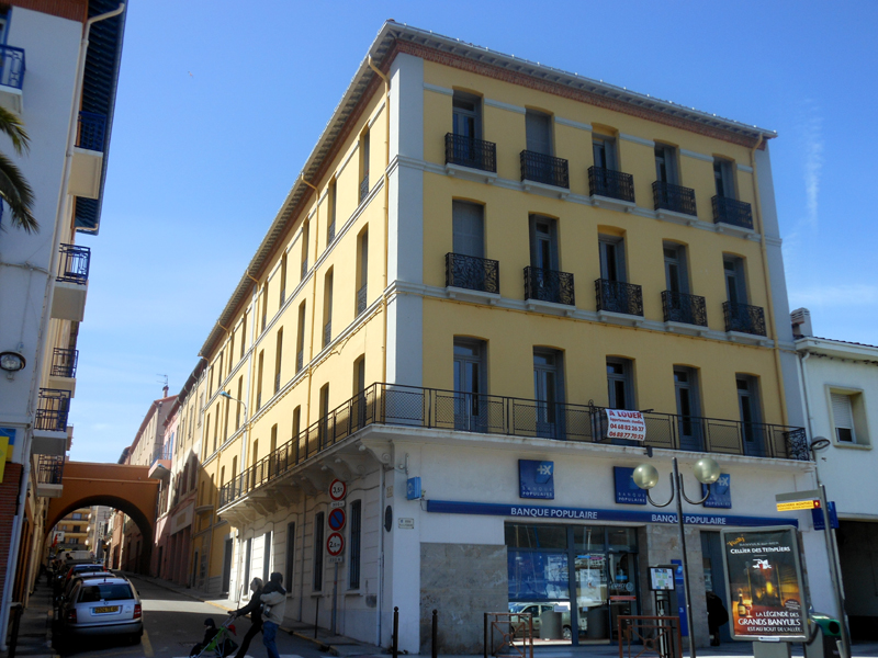 Port-Vendres 'Hotel du Commerce' © 2012 Scotiana