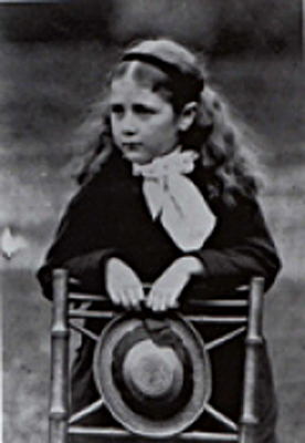 Beatrix Potter as a child circa 1876 Wikimedia