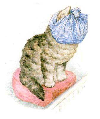 Beatrix Potter's illustration for 'The Story of Miss Moppet' Wikipedia