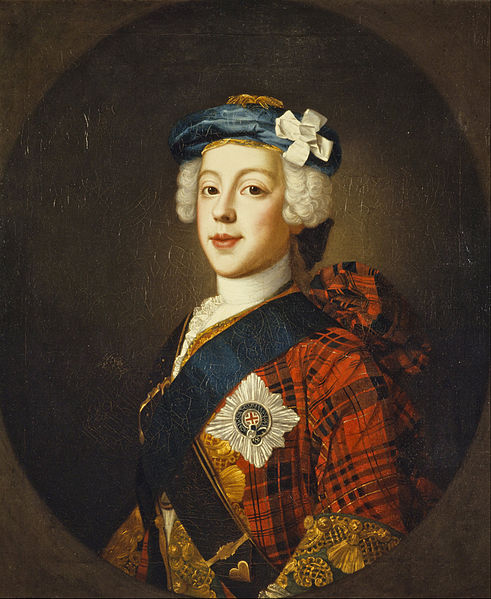 A portrait of Prince Charles Edward Stuart by William Mosman