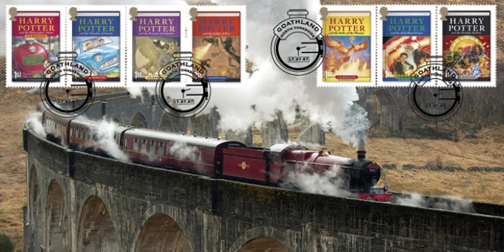 Glenfinnan-Viaduct-Harry-Potter-FDC-2007