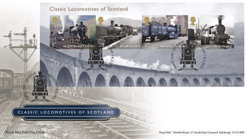 gb-classic-locomotives-scotland-first-day-cover-glenfinnan-viaduct