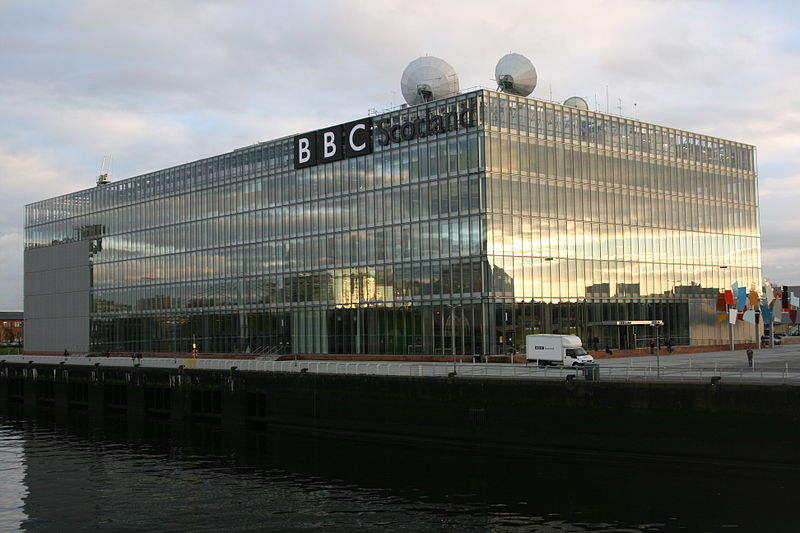 BBC Scotland building, Pacific Quay, Glasgow (Wikipedia)