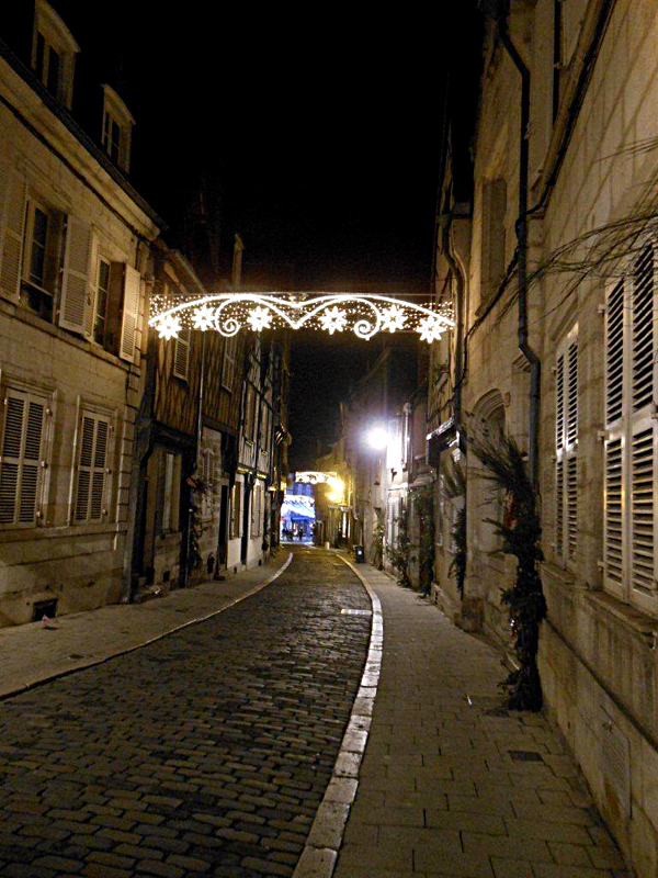 Bourges by night © 2014 Scotiana