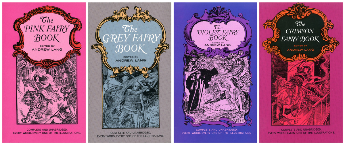 Andrew Lang's Fairy Books volumes 5-8 Dover Press