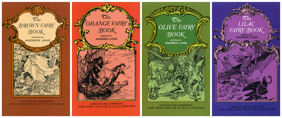 Andrew Lang's Fairy Books volumes 9-12 Dover Press