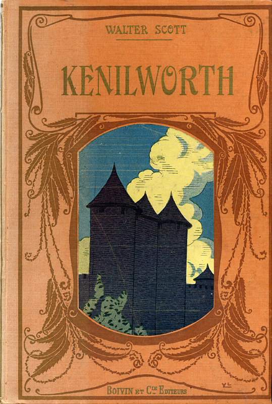 Kenilworth Walter Scott adapted by Emile Pech Boivin & Cie Editeurs 1929