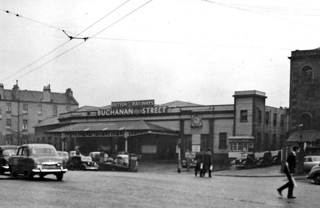 Buchanan Street Station Glasgow 1951 Wikipedia