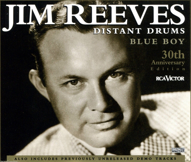 Jim Reeves Distant Drums Blue Boy 30 th Anniversary Edition
