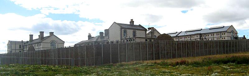 Peterhead prison in Aberdeenshire Source Wikimedia