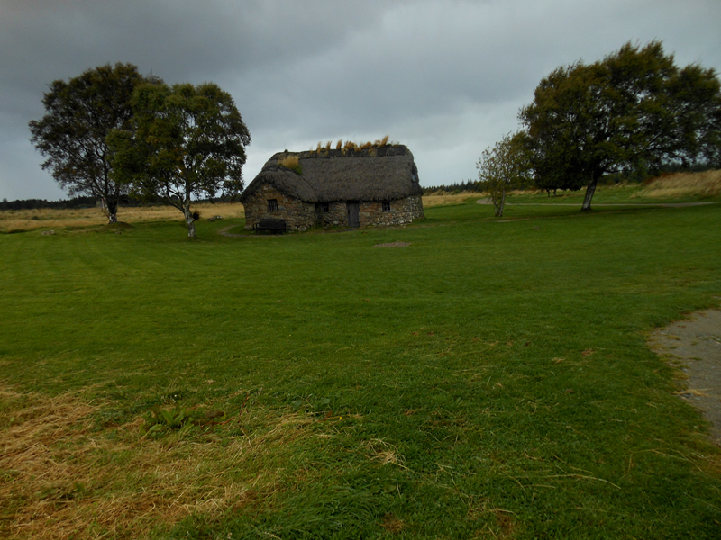 Culloden Old Leanach cottage © 2012 Scotiana