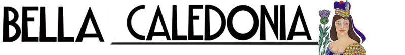 Bella Caledonia logo after an Alasdair's Gray painting