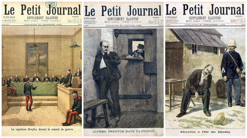 Dreyfus Caste Le Petit Journal 1894-1896