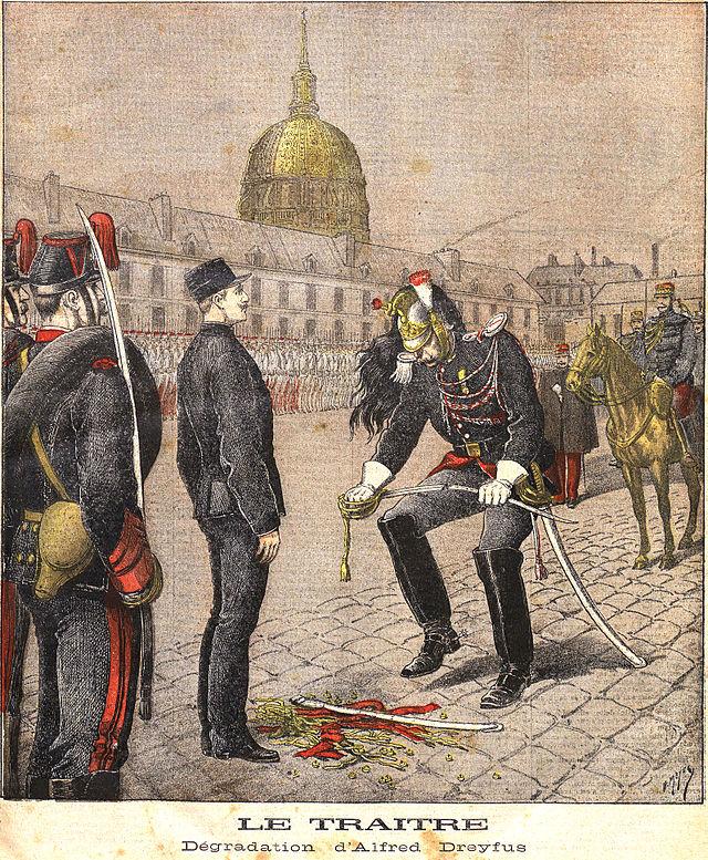 Petit Journal dégradation Alfred Dreyfus