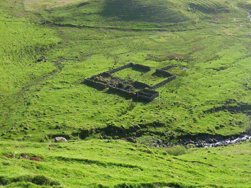A ruined croft farm on the western coast of Mull © 2004 Scotiana