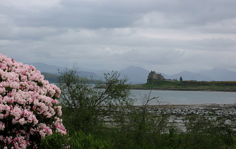 A view of Duart Castle across the water © 2004 Scotiana