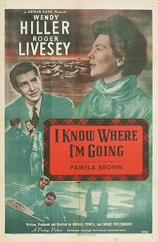 Michael Powell & Pressburger's 1945 film 'I know where I'm going'