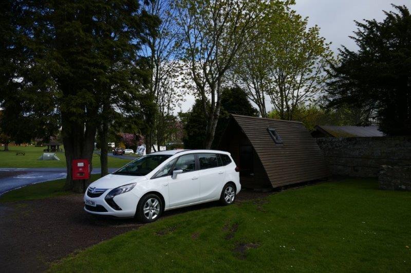 Mortonhall Caravan Park at Edinburgh
