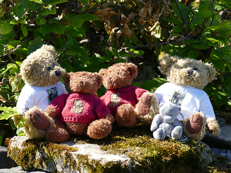 At last reunited our four mascots © 2015 Scotiana