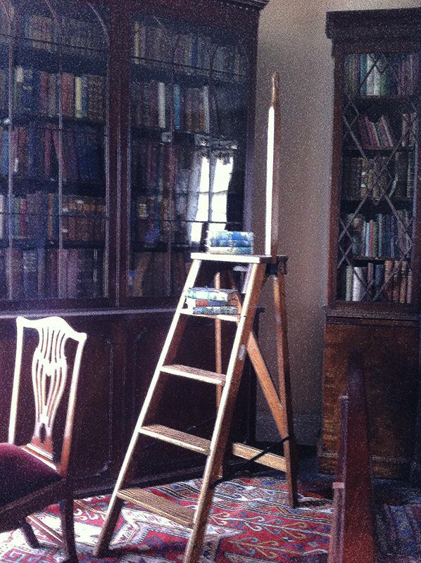 Broughton House Hornel's bookcase © 2015 Scotiana