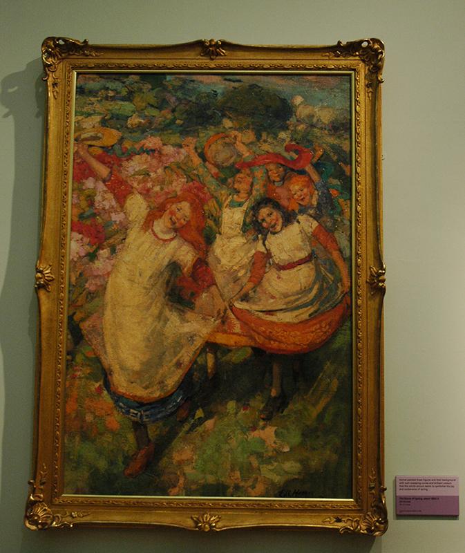 Hornel The Dance of Spring 1891 Kelvingrove Art Gallery & Museum © 2015 Scotiana