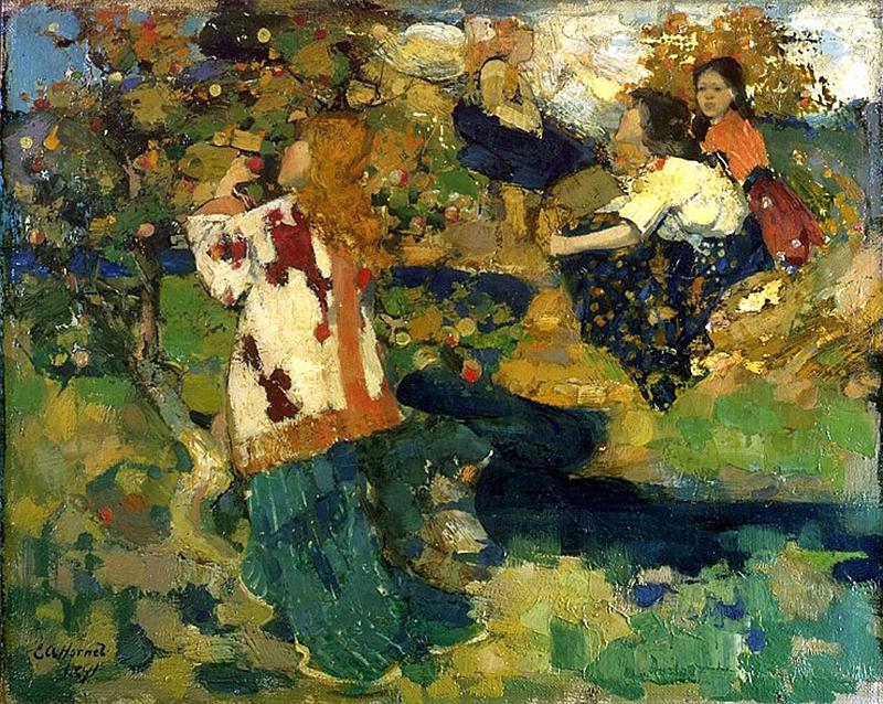 The Brook Edward Atkinson Hornel 1891