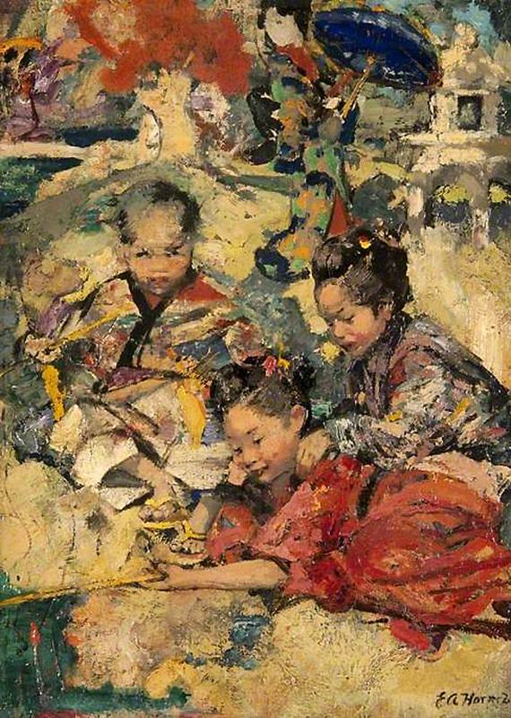 Hornel 1894 Kelvingrove Art Gallery & Museum