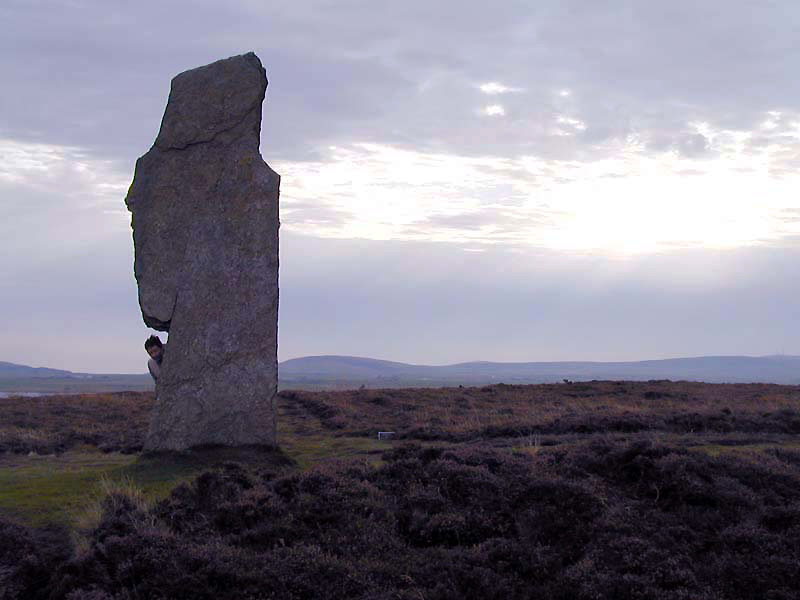 Orkney Ring of Brodgar stone giant © 2003Scotiana