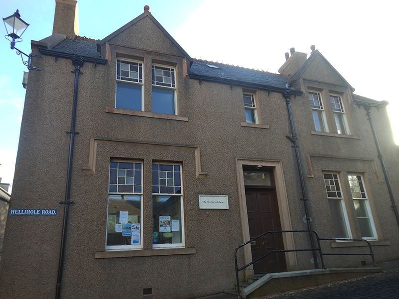 Stromness Library Hellihole road © 2012 Scotian