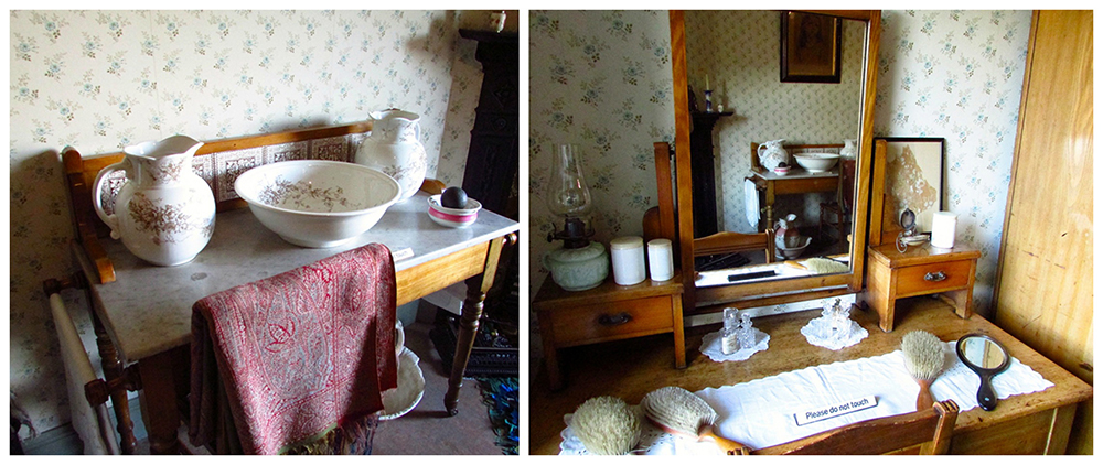 Dressing table in Miss Toward'sTenement House © Glen Bowman -  Flickr - Photo Sharing