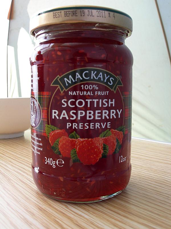 Mackays Scottish rasperry jam © 2007 Scotiana