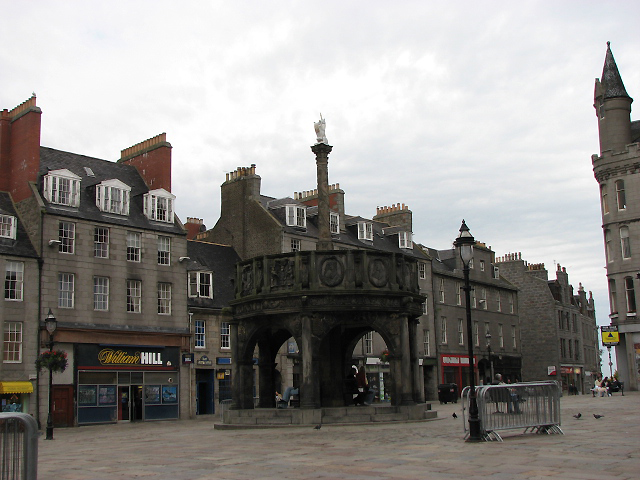 Aberdeen's Unicorn Mercat Cross - Scotland