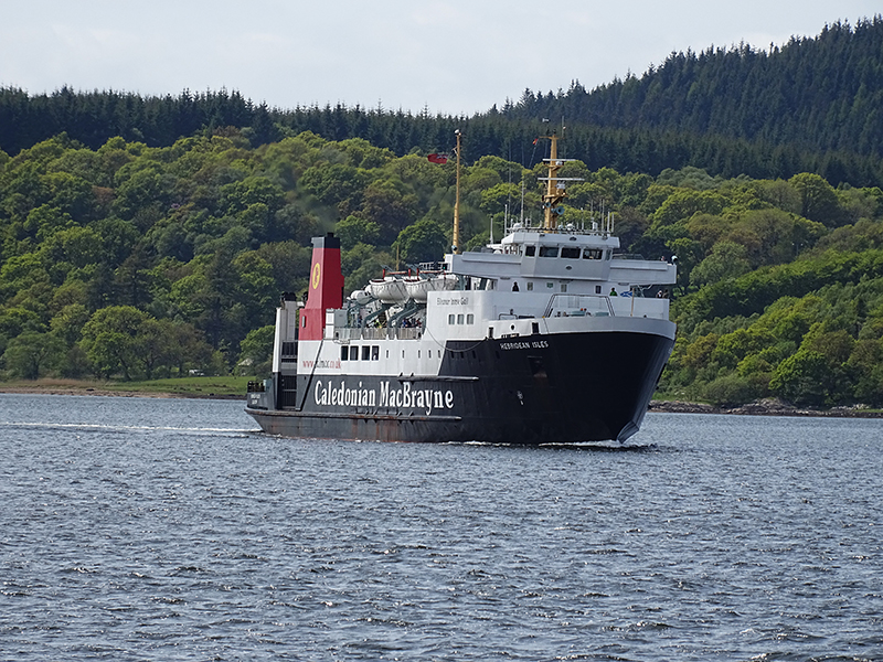 Hebridean Isles Kennacraig-Port Askaig Ferry © 2015 Scotiana