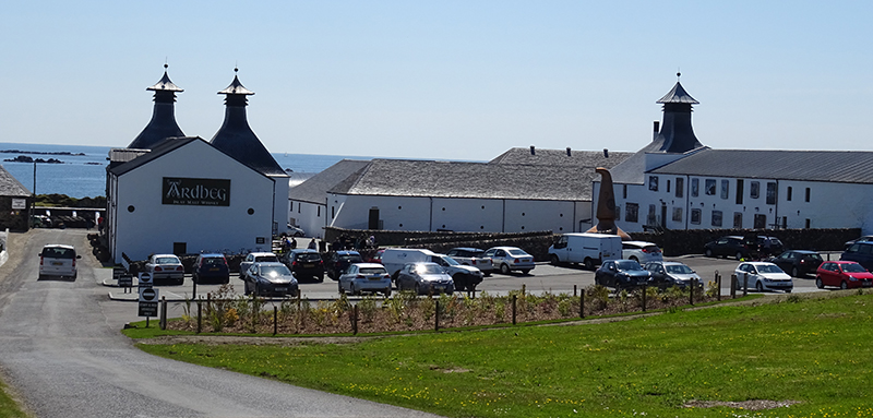Islay Ardbeg Distillery general view © 2015 Scotiana