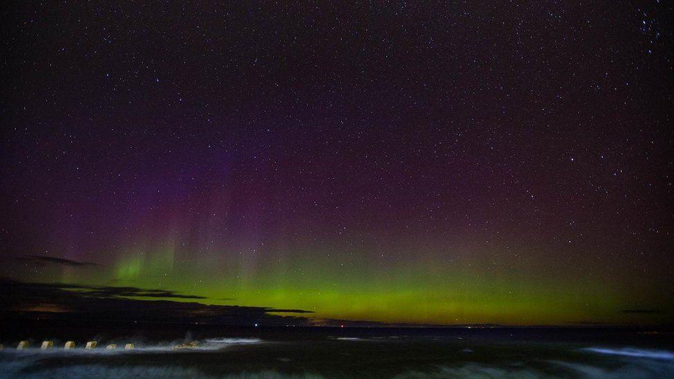 aurora borealis by skywatcher Scotland