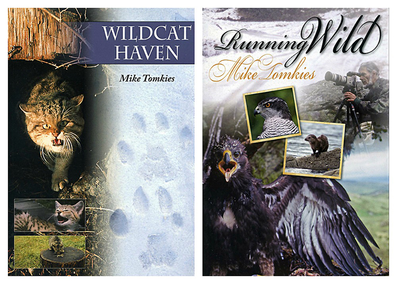 Wildcat Haven & Running Wild by Mike Tomkies