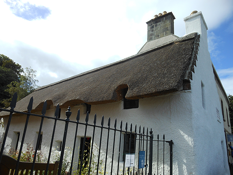 Hugh Miller's native cottage Cromarty © 2012 Scotiana
