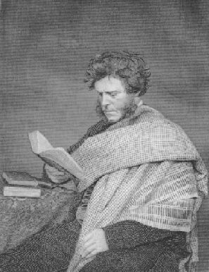 Portrait of Hugh Miller with a book