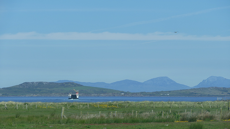Tayinloan-Gigha ferry West Kintyre © 2015 Scotiana