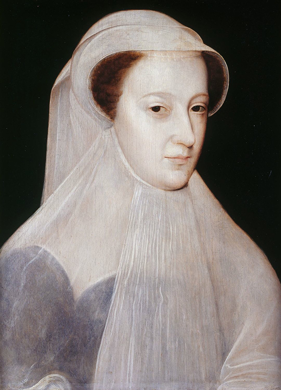 Mary Queen of Scots in white mourning by François Clouet Wikipedia