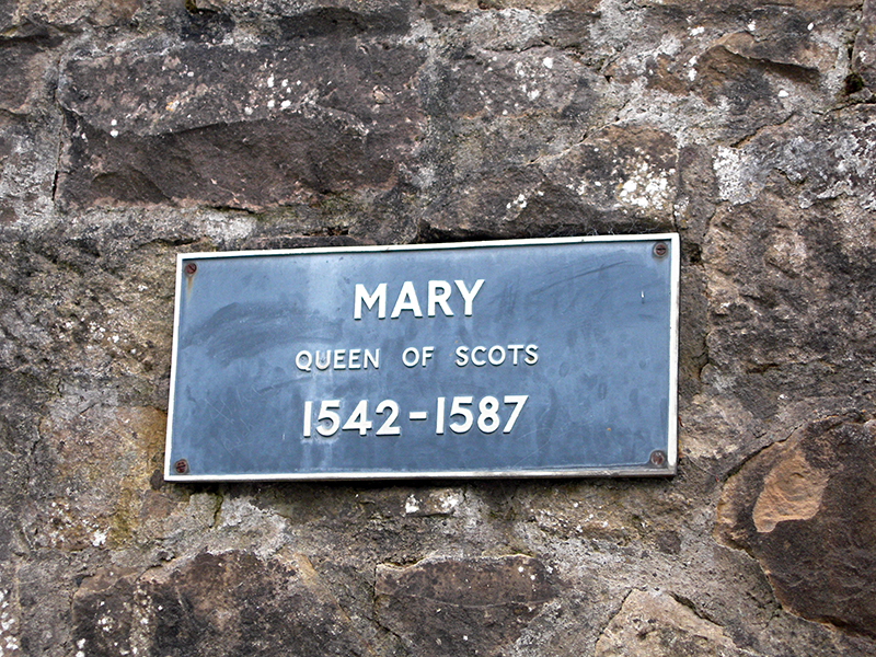 Linlithgow Kirgate Street Mary Queen of Scots plaque © 2003 Scotiana