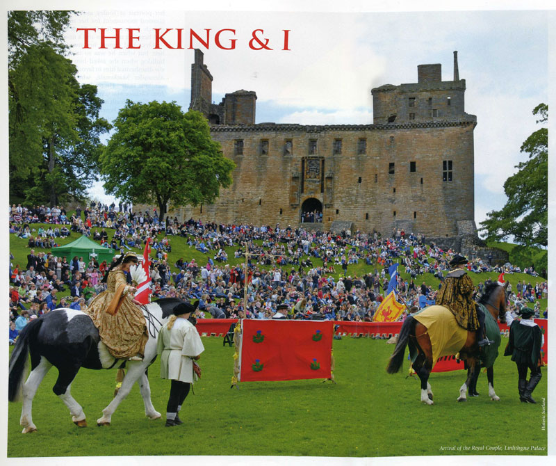 Linlithgow Palace - An article by Donald Cameron in The Scots Heritage Magazine 45