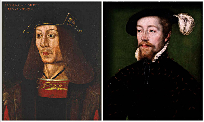 James IV and V of Scotland