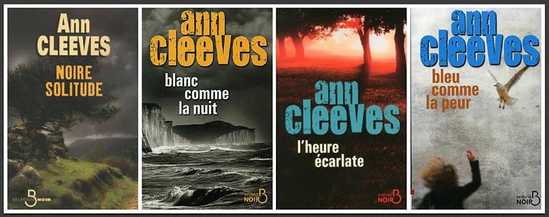 Ann Cleeves Shetland quatre volumes en français r1