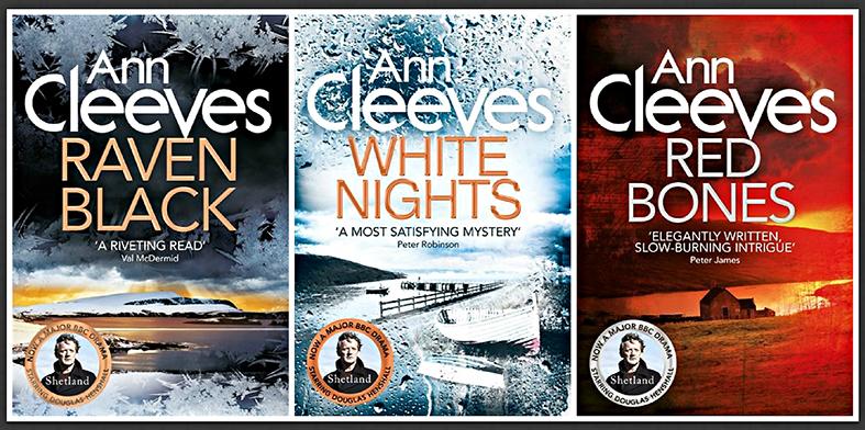 Ann Cleeves Shetland series volumes 1-2-3