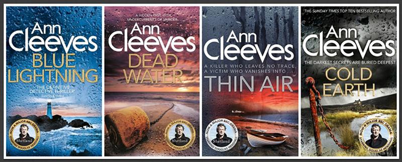 Ann Cleeves Shetland shetland series 4-5-6-7