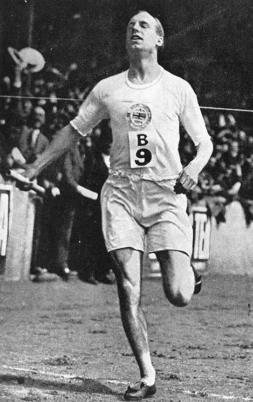 Olypic sprinter and misssionary - Source Wikipedia