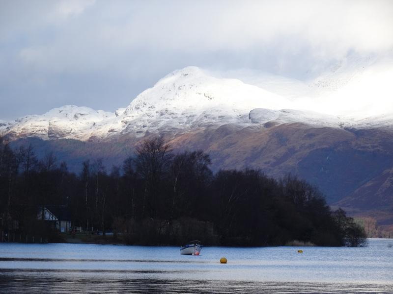 Trossachs Loch and Ben Lomond © 2019 Scotiana